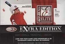2008 Donruss Elite Extra Edition Baseball 6 Box Sealed Hobby Case -Stanton Autos
