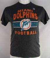 Miami Dolphins NFL Junk Food Men's Line Gray Short Sleeve T-Shirt