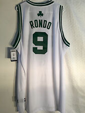Adidas Swingman NBA Jersey Boston Celtics Rajon Rondo White sz 2X