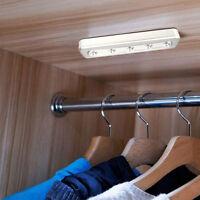 Bewegungsmelder Batterie 5LED Unterbauleuchte Küche Lichtleiste Schrankleuchte