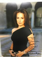 Holly M Combs Signed 8 X 10 Charmed Photo With COA