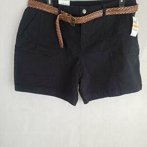 Style & Co. Womens Mid Rise Chino Daytime Bermuda Shorts Plus Sizes WP-302