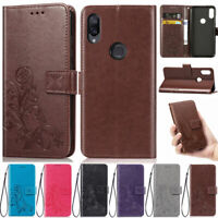 Flowers Wallet Leather Flip Case Cover For Xiaomi Redmi Note 8 Note 7 K20 7A 8A