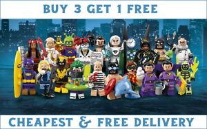 LEGO MINIFIGURES BATMAN MOVIE SERIES 2 71020 PICK CHOOSE + BUY 3 GET 1 FREE