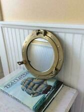 "12""~ Antique Porthole ~Nautical Decor Porthole Mirror Ship FinishPorthole Cabin"