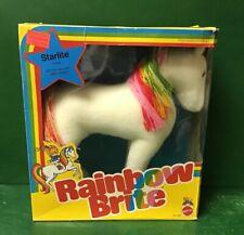 """1983 Rainbow Brite:""""STARLITE"""" NIB By Mattel No.7358"""