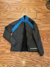 O'Neill Mens Neoprene Wetsuit Jacket Back Zip Black US Men's Medium