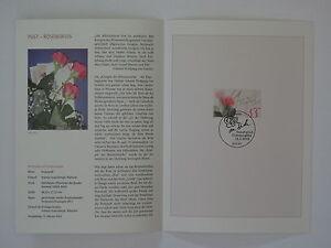 (03j12) Bund Erinnerungsblatt 2003 mit ESST Mi.Nr. 2317 Post Rosengruß