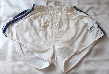 Adidas Glanz Nylon Shorts, Größe D5, weiß/blau, Zustand sehr gut, wie neu.
