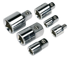 Sealey AK2736 Heavy Duty Socket Tool Adaptor Converter Reducer Set 6 Pcs New