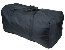 Very Lightweight Very Large Fold-Away Travel Holdall 67 Litre Capacity - Black