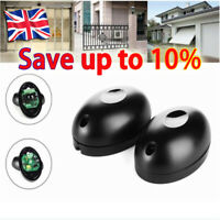 20m Single Beam Alarm Photoelectric Infrared Detector Security System Door UK#