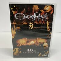 Ozzy Osbournes Ozzfest 10th Anniversary DVD And CD Free Shipping Nice Condition