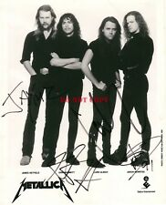 METALLICA signed autographed 8x10 photo Reprint