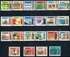 Zimbabwe 1985 National Infastructure 22v SG 659/80 MNH