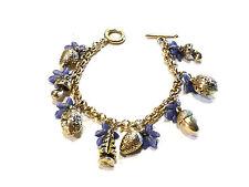 Bijou alliage doré bracelet breloques signé Rémy Dis Paris idéal pour cadeau