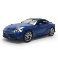 Toyota GR Supra 1:32 Die Cast Modellauto Auto Spielzeug Model Sammlung Blau Kind