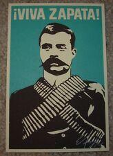 ERNESTO YERENA Print VIVA ZAPATA Handbill poster shepard fairey