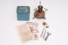 Vintage Brass Stove Optimus No 96,Made in Sweden,With Blue Box,Tools & Paperwork