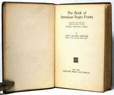 The Book of American Negro Poetry with an Essay on the Negro's Creative Genius