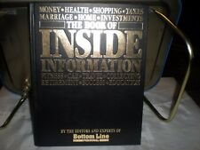The Book of Inside Information : Money, Health, Shopping, Taxes, Marriage, Home,