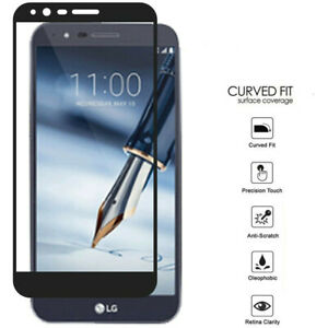 5-Pack For LG Stylo 5 / 5Plus Premium Tempered Glass Screen Protector Full Cover