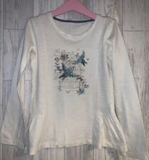 Girls Age 6-7 Years - Mothercare Long Sleeved Top - Beautiful