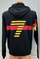 Emporio Armani EA7 Black Full Zip Hooded Track Top Jacket Hoodie Size Large BNWT