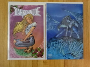 RARE LOT OF 2 DARKCHYLDE: LAST ISSUE SEPCIAL COMIC BOOKS!