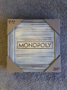 Monopoly Rustic Edition By Hasbro Gaming - New/Sealed RARE!