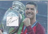 CRISTIANO RONALDO Signed 12x8 Photo Display REAL MADRID C. F. & PORTUGAL COA