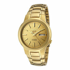 Seiko 5 SNKA10 Automatic Day-Date All Gold Stainless Steel Men's Watch SNKA10K1