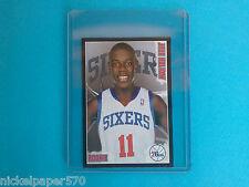 2009-10 Jrue Holiday Rookie Sticker Panini NBA Basketball Stars Rare !!