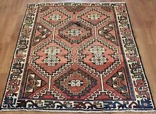 OLD WOOL HAND MADE PERSIAN ORIENTAL FLORAL RUNNER AREA RUG CARPET 168x122CM