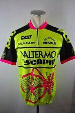 Fast Italia vintage Valtermo cycling jersey maglia Rad Trikot Gr. XL BW 56cm 09D