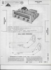 1959 PHOTOFACT Fisher FM AM Receiver Tuner Radio 101-R Manual #1289