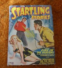 Pulp Magazine STARTLING STORIES July 1949 Ray Bradbury, Arthur C. Clarke