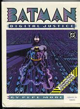 Batman Digital Justice 1 Hardcover DC 1990 NM Sealed Pepe Moreno