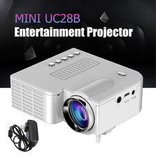 Micro UC28B Mini Multimedia LED Projector Home Cinema TF USB Portable