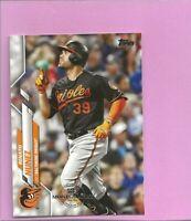 2020 Topps 582 Montgomery Club Foil Stamp #624 Renato Nunez Baltimore Orioles