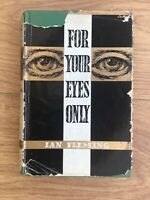 For Your Eyes Only Ian Fleming Book Club First Edition 1960