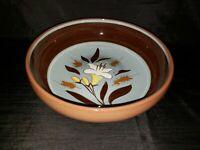 """Stangl Pottery Golden Harvest Pattern 9-3/4"""" Salad Pasta Serving Bowl"""