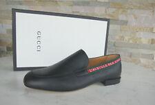 GUCCI Gr 43 8,5 Halbschuhe Slipper Schuhe 496245 schwarz NEU ehem UVP 595€