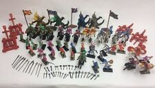 New 120 Pcs Fantasy Toys Medieval Times Soldier Set Dragon Figurines Knight Kids