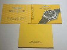 ULTRA RARE BOOKLET FOR BREITLING SHADOW FLYBACK WATCH