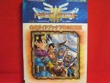 Dragon Warrior III official visual art book #2 GB / Quest