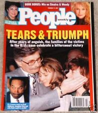 People 1997 OJ Simpson Mayfield Arquette Mia Farrow