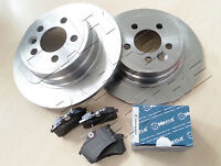 FOR VW PASSAT 3B ESTATE REAR LEFT RIGHT BRAKE DISC DISCS MEYLE PAD PADS SET