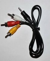 NEW GoPro AV Composite Audio Video RCA Cable Output 2.5mm for HD Hero 2