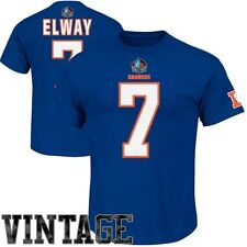 NWT  DENVER BRONCOS ELWAY 7 HALL OF FAME ELIGIBLE RECEIVER T TEE SHIRT XLARGE XL